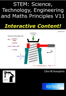 STEM Science, Technology, Engineering and Maths Principles V11 | Clive W. Humphris | eptsoft
