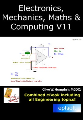 Electronics, Mechanics, Maths and Computing V11 | Clive W. Humphris | eptsoft