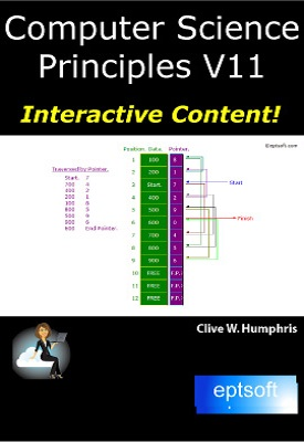 Computer Science Principles V11 | Clive W. Humphris | eptsoft