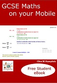 GCSE Maths on your Mobile