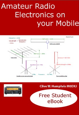 Amateur Radio Electronics on your Mobile   Clive W. Humphris   eptsoft