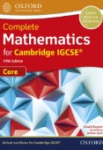 Complete Mathematics for Cambridge IGCSE Student Book (Core)