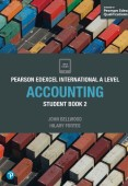 Pearson Edexcel International A Level Accounting Student Book