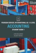 Pearson Edexcel International AS/A Level Accounting Student Book 1