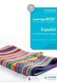Cambridge IGCSE™ Español como Primera Lengua Libro del Alumno