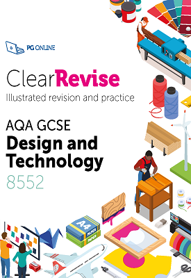 ClearRevise AQA GCSE Design and Technology | etal | PG Online