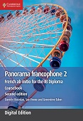 Panorama francophone 2 Coursebook : French ab initio for the IB Diploma