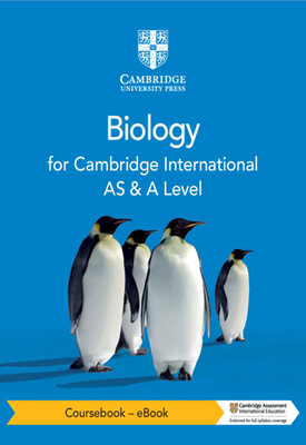 Cambridge International AS & A Level Biology Coursebook with Digital Access (2 Years) | Mary Jones, Richard Fosbery, Dennis Taylor, Jennifer Gregory | Cambridge‎