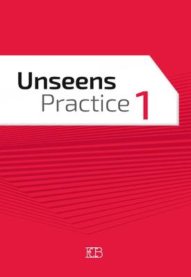 Unseens Practice 1 | Michal Melamud, Lisa Hamdi, Daniel Martin | Eric Cohen Books