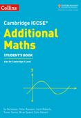 Cambridge IGCSE™ Additional Maths Student's eBook
