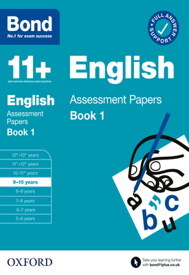 Bond 11+: Maths Assessment Papers Book 1 9-10 Years | Andrew Baines | Oxford University Press
