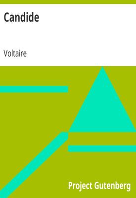 Candide   Voltaire   Public Domain