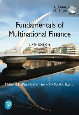 Fundamentals of Multinational Finance   Michael Moffett   Pearson