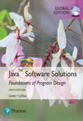 Java Software Solutions, eBook, Global Edition
