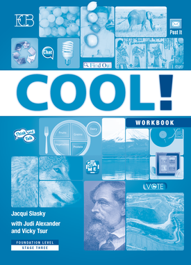 COOL!  Foundation Level Stage 3, Workbook | Jacqui Slasky | Eric Cohen Books