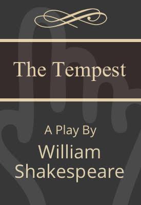 The Tempest | William Shakespeare | Public Domain
