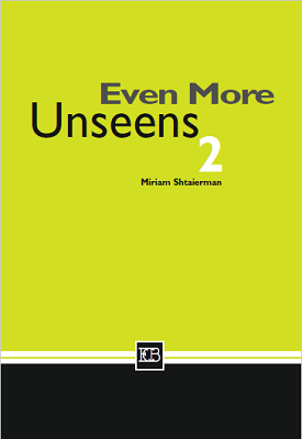 Even More Unseens 2 | Miriam Shtaierman | Eric Cohen Books