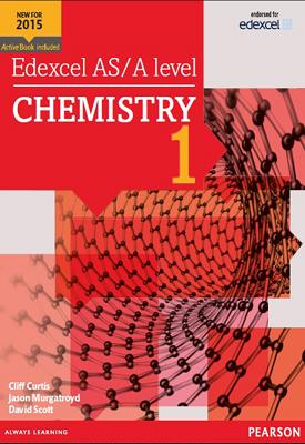 Edexcel AS/A level CHEMISTRY 1 | Cliff Curtis, Jason Murgatroyd, David Scott | Pearson