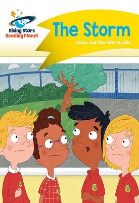Reading Planet - The Storm - Yellow: Comet Street Kids | Guillain Adam | Hodder