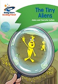 Reading Planet - The Tiny Aliens - Green: Comet Street Kids