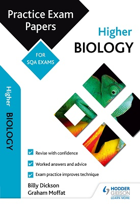 Higher Biology: Practice Papers for SQA Exams | Billy DIckson, Graham Moffat | Hodder
