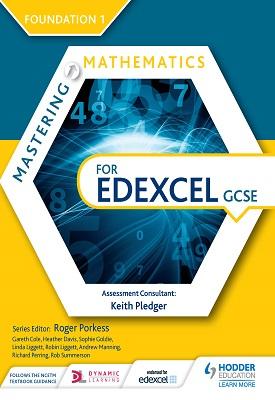 Mastering Mathematics for Edexcel GCSE: Foundation 1 | Heather Davis, Sophie Goldie, Et al | Hodder