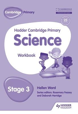 Hodder Cambridge Primary Science Workbook 3 | Helen Ward | Hodder