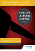 Modern Languages Study Guides: Crónica de una muerte anunciada